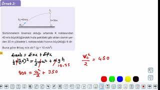 Eğitim Vadisi 11.Sınıf Fizik 10.Föy Enerji ve Hareket 1 (Mekanik Enerji) Konu Anlatım Videoları