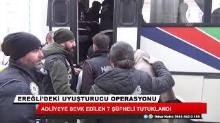 Konya'daki uyuşturucu operasyonunda 7 kişi tutuklandı