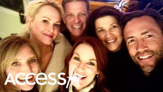 'Melrose Place' Cast Reunites For Dinner In NYC More Than 20 Years After Show's Finale
