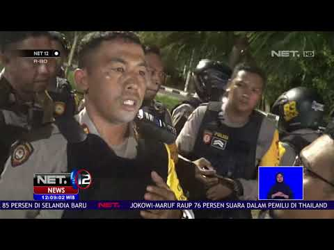Konvoi Kemenangan Dibubarkan Polisi NET12