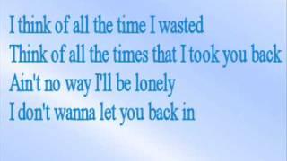 Britney Spears - Lonely (With Lyrics)