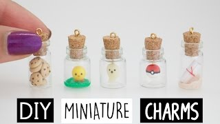DIY MINI CHARMS IN A BOTTLE!