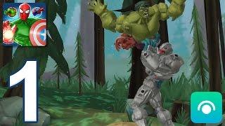 Mix Smash: Marvel Super Hero Mashers - Gameplay Walkthrough Part 1 - Chapter 1: Hulk (iOS, Android)
