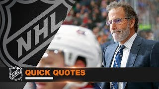 Quick Quotes: Torts, Boudreau And Lundqvist Sound Off