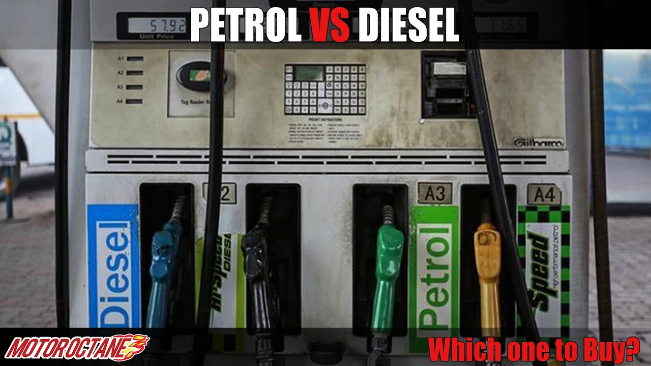 Motoroctane Youtube Video - PETROL car lena chahiye ya DIESEL? - Sasti kaunsi hai? | Hindi | MotorOctane