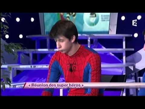 Réunion des super héros