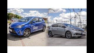 Hybrydowa Toyota Yaris i Auris