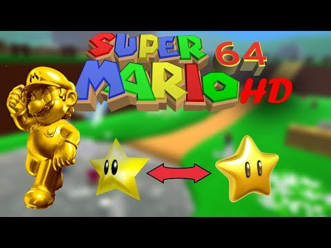 Super Mario 64 HD Remake Beta Gameplay - смотреть онлайн на
