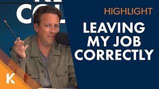 How Do I Leave a Job Correctly Without Burning Bridges?