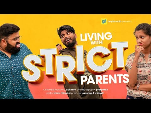 Living With Strict Parents | Boy Formula | ChaiBisket