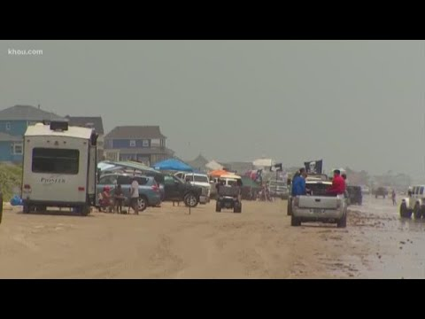 18 crashes reported on Bolivar Peninsula during 'Go Topless' Jeep weekend, sheriff says