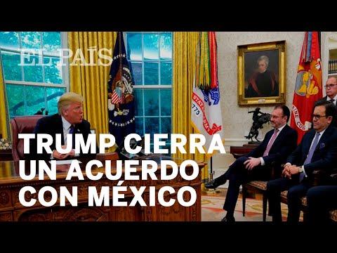 TRUMP cierra un acuerdo comercial con MÉXICO sin contar con Canadá
