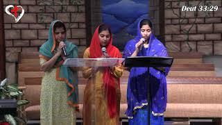 "Video thumbnail of ""Dhanyudavu Neevu Dhanyudavu - Deut 33:29 | Telugu Christian Song | Heavenly Grace Indian Church|"""