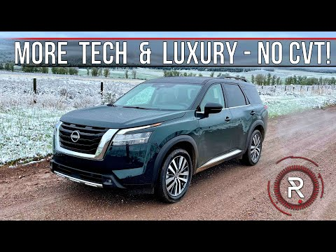 The 2022 Nissan Pathfinder Platinum is a More Capable & Much Improved Family Hauler