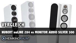 Vergleich: Nubert nuLine 284 vs. Monitor Audio Silver 300 Lautsprecher