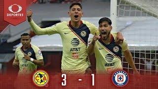Gran Victoria De América | América 3 - 1 Cruz Azul | Cl 19 Cuartos Ida | Televisa Deportes