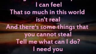 Andrew McMahon - I Need You with lyrics