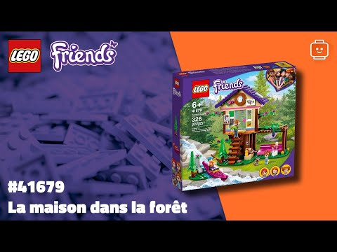 Vidéo LEGO Friends 41679 : La maison dans la forêt