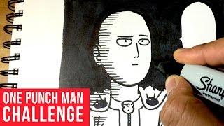 One Punch Man 5 Minute Sharpie Challenge