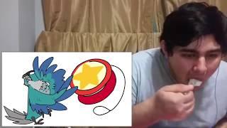 "Jaiden Animations ""Ari's Birthday! (Again)"" REACTION + eating mashed potatoes"