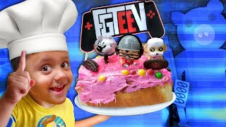 Making an FGTeeV Cake with Shawn! (FV Family Throwback)