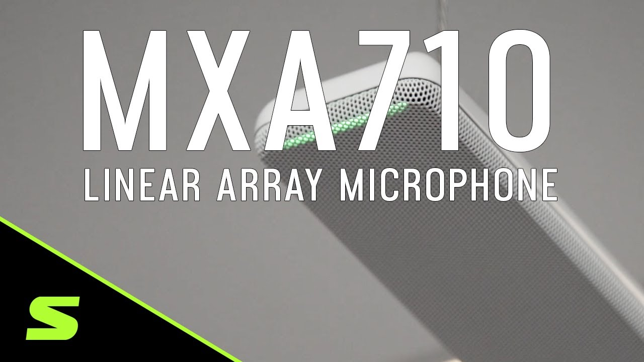 Shure Microflex® Advance™ MXA710 Linear Array Microphone