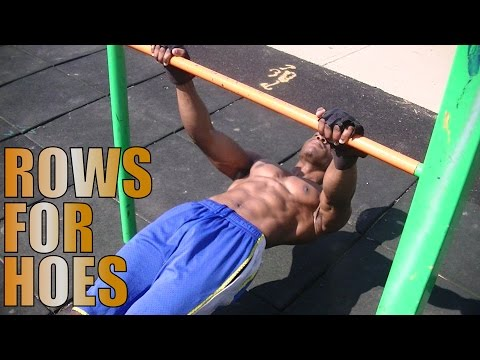 Bodybuilding with Calisthenics | ROWS For HOES [Ep.3]