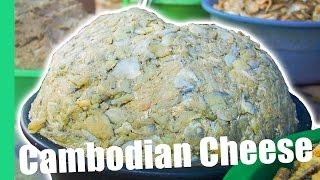 Eating Cambodian Cheese (Prahok) in Siem Reap