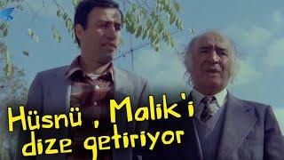 Yedi Bela Hüsnü - Hüsnü,  Malik'i Dize Getiriyor