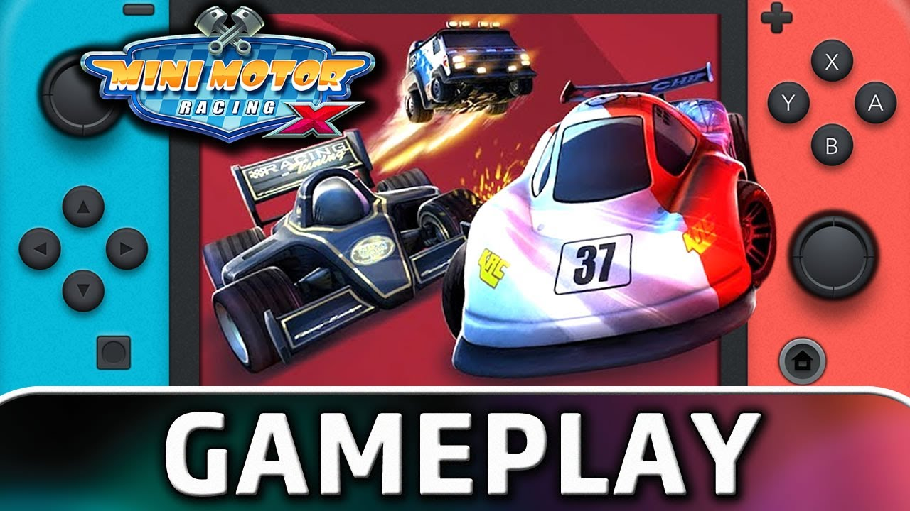 Mini Motor Racing X | Nintendo Switch Gameplay