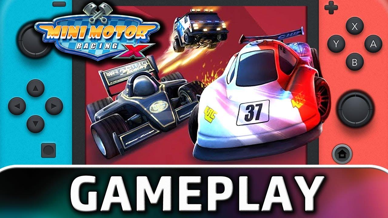 Mini Motor Racing X | Nintendo Switch Gameplay