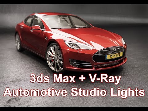 creating realistic studio lighting in 3ds max tutorial by jamie cardoso