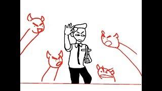spooky mormon hell dream animatic (book of mormon)