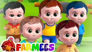 Five little babies Jumping on the Bed & More Nursery Rhymes & Kids Songs by Farmees