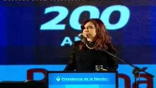 preview picture of video '25 de JUN. Bicentenario de la ciudad de Paraná. Cristina Fernández'