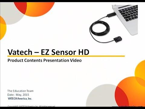 Vatech EZ Sensor HD – Product Contents