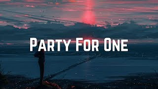 Carly Rae Jepsen   Party For One (Lyrics)
