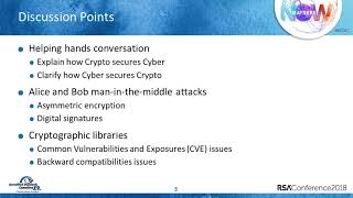 Quick Look: Cyber Is Hot; Crypto Is Not