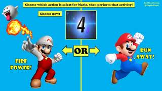Super Mario Fitness Challenge - PE Distance Learning At Home