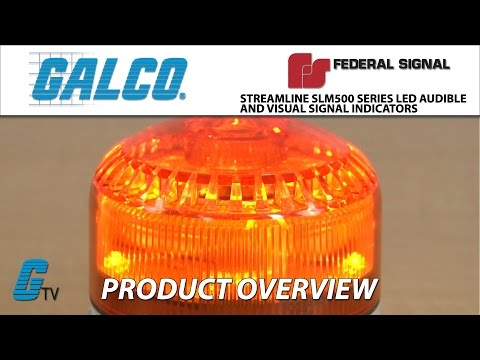 Federal Signals StreamLine SLM500 LED Audible and Visual Signal Indicator