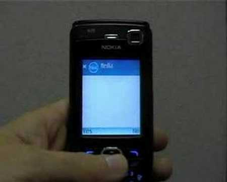 Installation And Demo: MobiNear Cast On Nokia N70 Mp3
