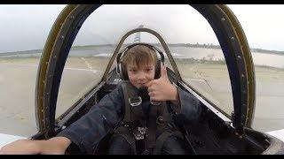 Иван на пилотаже