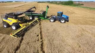 KF Winter wheat harvest 2016  Canada  MY AGRO