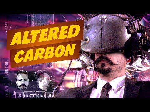 Altered Carbon e universos Cyberpunk!   Matando Robôs Gigantes