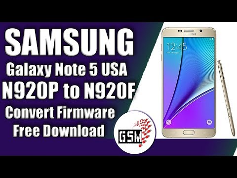 Galaxy Note 5: SM-N920K/L/S (Korean) converted into SM-N920C (UAE