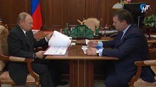 Андрей Никитин прокомментировал итоги  встречи с Президентом Владимиром Путиным