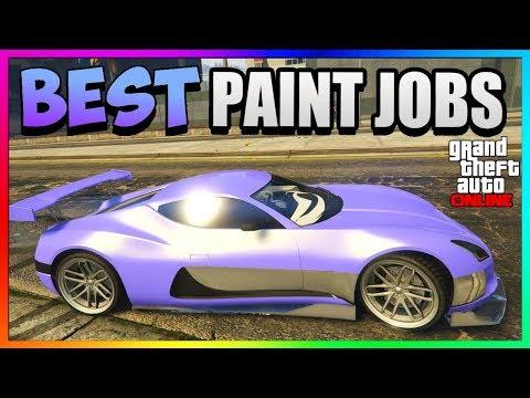 GTA 5 Online - COIL CYCLONE Best RARE Paint Jobs & SEXY Car Color Schemes! (GTA 5 Paint Jobs 1.41)