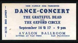 Grateful Dead - It's All Over Now, Baby Blue 9-16-66