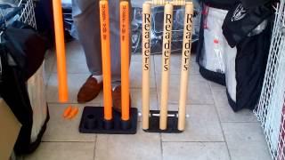 Cricket Stumps: Aero Universal Vs. Readers Springback
