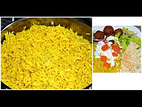Halal Cart Rice Recipe